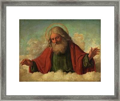 God The Father Framed Print