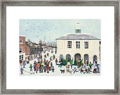 Godalming    Surrey Framed Print by Judy Joel