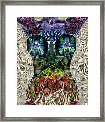 Godbody Framed Print by Arla Patch