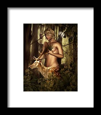 Artemis Framed Prints