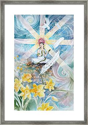 Goddess Awakened Framed Print