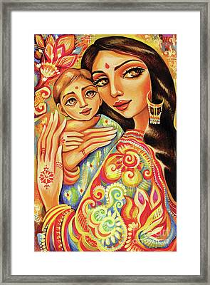 Goddess Blessing Framed Print