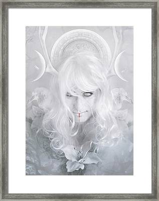 Goddess Framed Print by Cambion Art