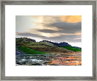 Goddess Dawn Framed Print