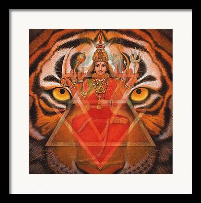 Goddess Kali Framed Prints