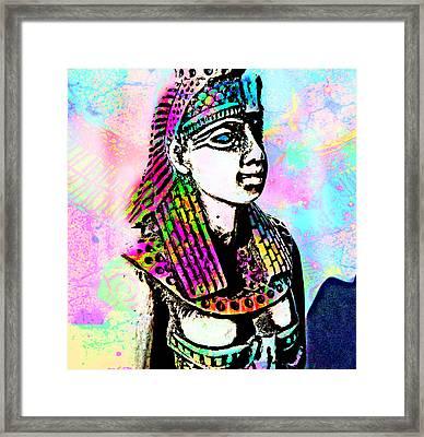 Goddess Framed Print by Ellie Michael