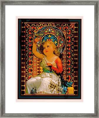 Goddess In Training Framed Print by Janiece Senn