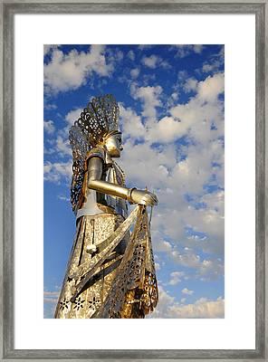 Goddess Isthmus Framed Print by Skip Hunt