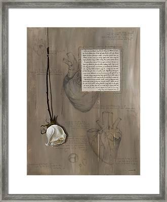 Goddess Leto Framed Print by Kristin Llamas