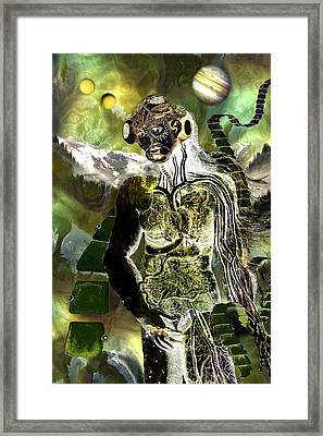 Goddess Of A New Earth Framed Print by Lisa Yount