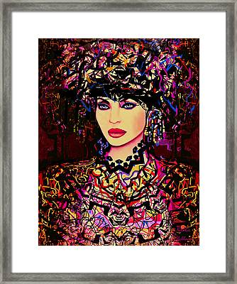 Goddess Of Beauty Framed Print by Natalie Holland