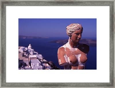 Goddess Of Love Framed Print by Steve Outram