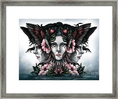 Goddess Of Magic Framed Print