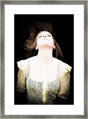 Goddess Of The Moon Framed Print by Loriental Photography
