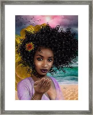 Goddess Oshun Framed Print