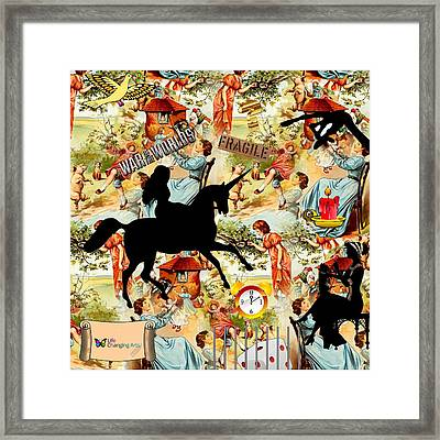 Goddess Returns Framed Print