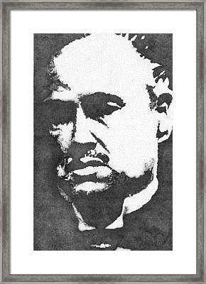 Godfather Framed Print by Mike Pedone