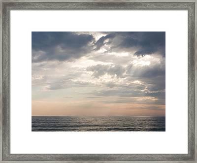 Godrays Framed Print by Nila Newsom