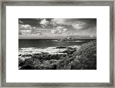 Godrevy Lighthouse 1 Framed Print