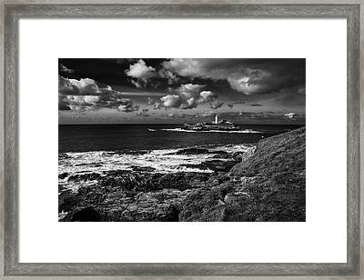 Godrevy Lighthouse 2 Framed Print