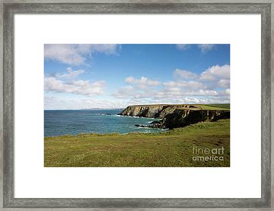 Godrevy To St Agnes, The North Cornwall Coastline Framed Print