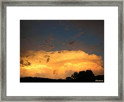 Framed Print featuring the photograph God's Answer To Rain Prayers by Anastasia Savage Ealy