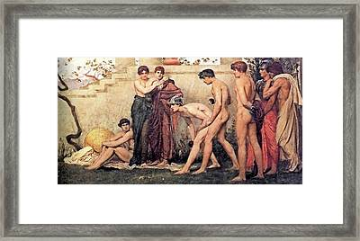 Gods At Play Framed Print