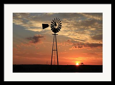 Southwest Oklahoma Framed Prints