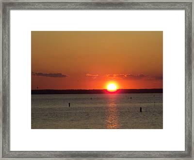 God's Eye Framed Print