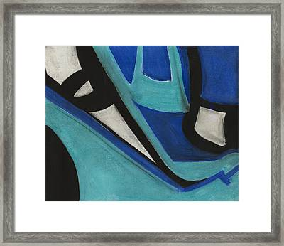 God's Eye Dyptych 1 Framed Print by Diallo House