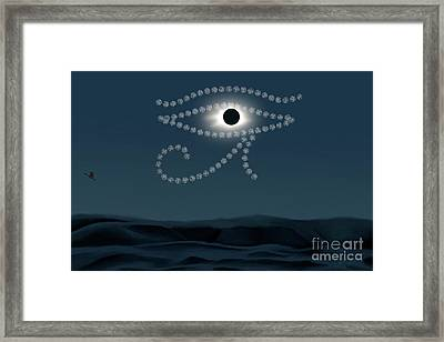 Eye Of Ra Framed Print