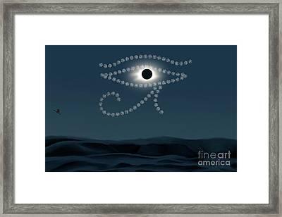 Eye Of Ra Framed Print