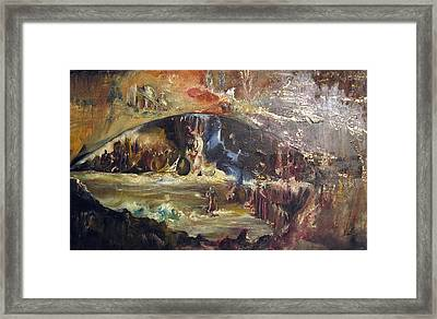 Gods Eye Framed Print by Sevan Thometz