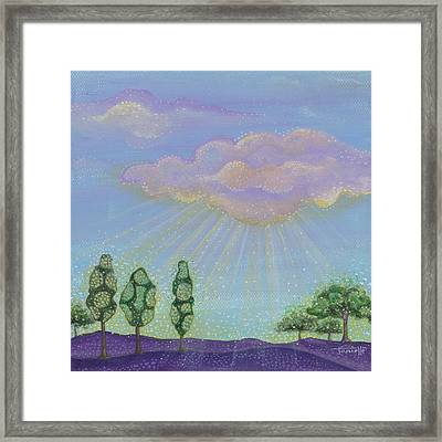 God's Grace Framed Print