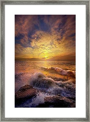 Framed Print featuring the photograph Gods Natural Cure by Phil Koch