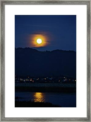 God's Nightlight Framed Print