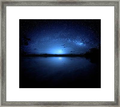 Framed Print featuring the photograph Gods Of Nature by Mark Andrew Thomas