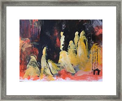 Gods Of The Mountain Framed Print
