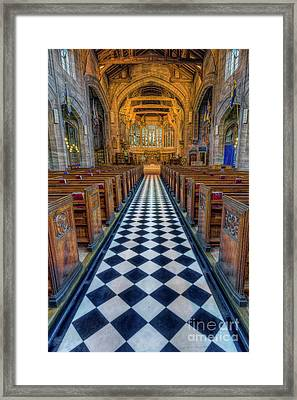 Gods Path Framed Print
