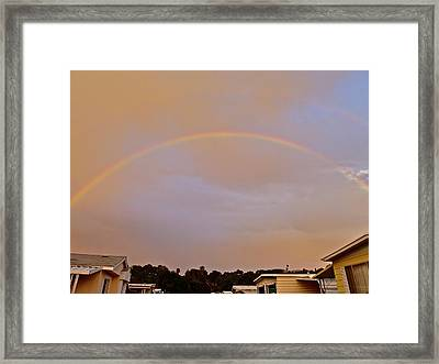 God's Promise Framed Print