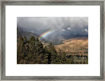 Framed Print featuring the photograph Gods Promise  by Robert Pearson