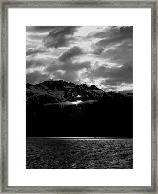 God's Spotlight Framed Print