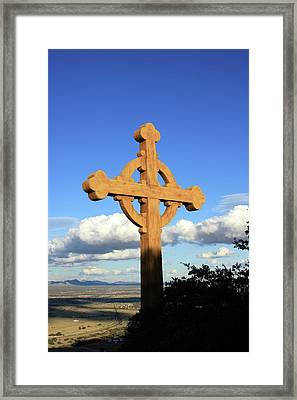 God's View II Framed Print
