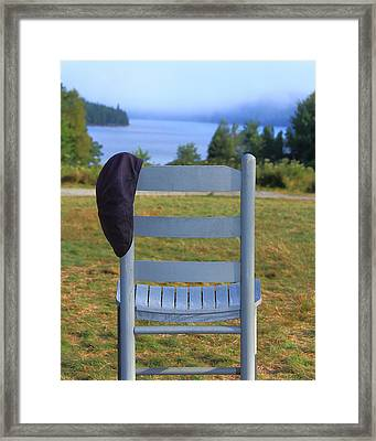 God's Waiting Room Framed Print