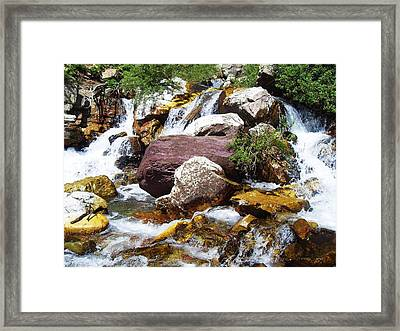 God's Water Framed Print by Norman Kraatz