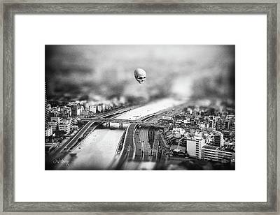 Framed Print featuring the digital art Godseye 2 by Joseph Westrupp