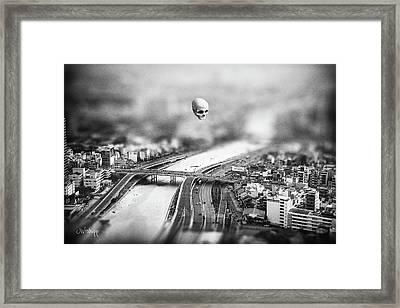 Godseye 2 Framed Print by Joseph Westrupp