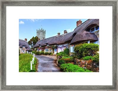 Godshill - Isle Of Wight Framed Print by Joana Kruse