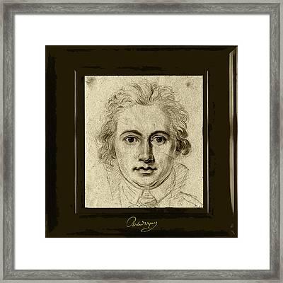 Goethe Framed Print