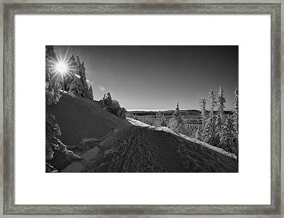 Goethe Way, Harz Framed Print by Andreas Levi